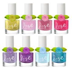 NEW! ROSE Non-Toxic Peel-Off Nail Polish - Multiple Shades Available (8)
