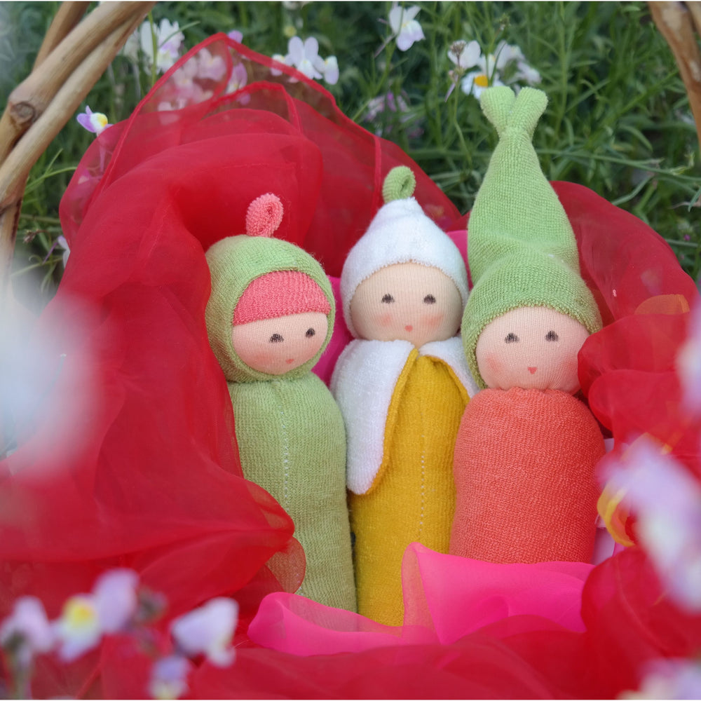 "Nanchen Organic Cotton ""Garden"" Rattle Dolls - challengeandfunretail - 1"