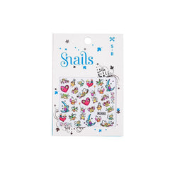 Snails Nail Stickers