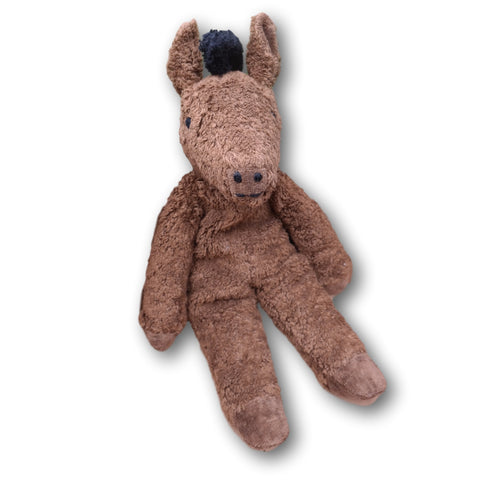Senger Organic Cotton Brown Horse - challenge and fun natural toys