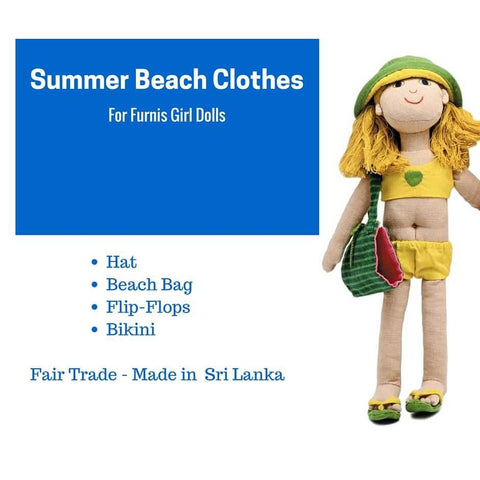 Summer Outfit-Girl - challenge and fun natural toys