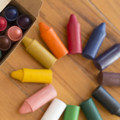 Honeysticks 100% Beeswax Crayons - Original (5)-Challenge & Fun, Inc.