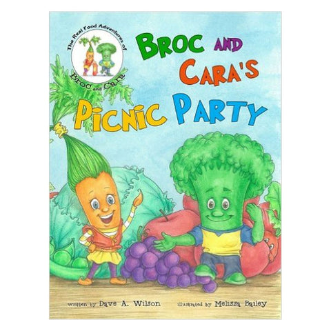 Broc and Cara Book - challenge and fun natural toys - 1