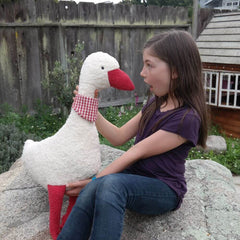 Extra Large Organic Cotton Goose - challengeandfunretail - 3