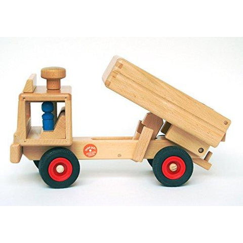 "Fagus Wooden Tipper Dump Truck (Small 13"")"