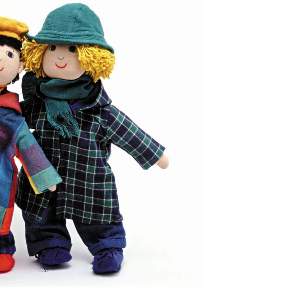 Winter Doll Outfit for Boy - challenge and fun natural toys