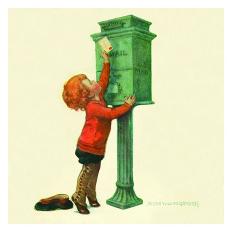 Jessie Willcox Smith Greeting Cards : Mailing Letter - challengeandfunretail