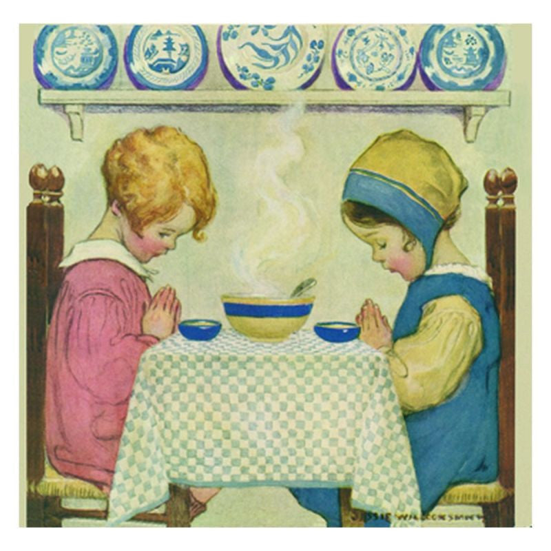 Jessie Willcox Smith Greeting Cards : Saying Grace - challengeandfunretail