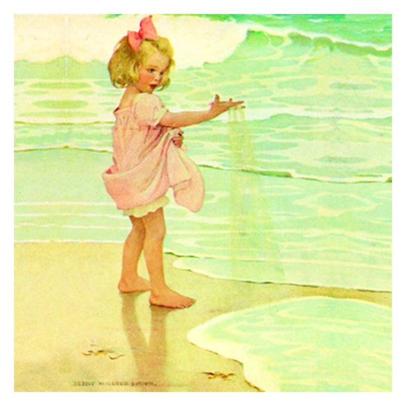 Jessie Willcox Smith Greeting Cards : Little Grain of Sand - challengeandfunretail