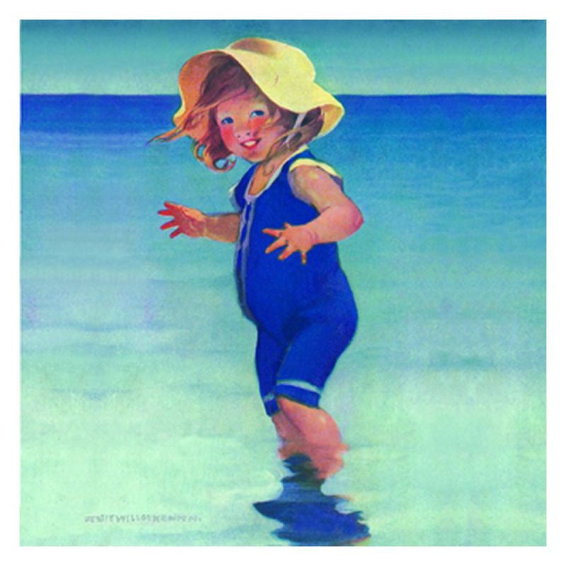Jessie Willcox Smith Greeting Cards : Girl with Sun Hat - challengeandfunretail