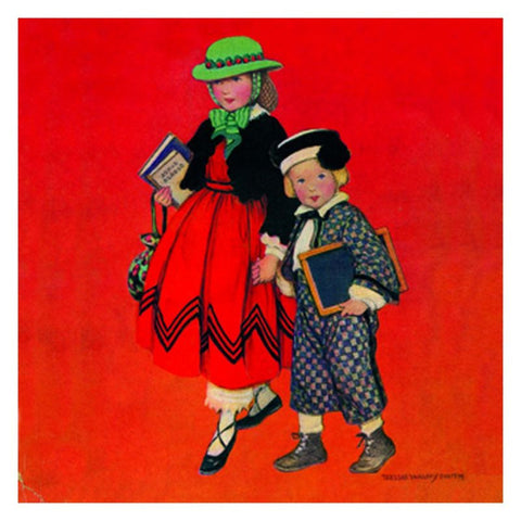Jessie Willcox Smith Greeting Cards : Dressed for Success - challenge and fun natural toys