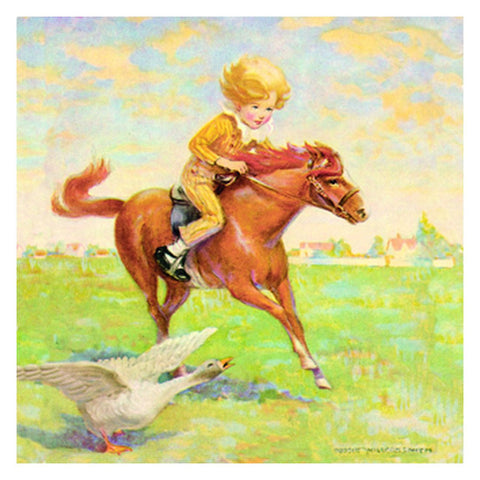 Jessie Willcox Smith Greeting Cards : At Full Gallop - challengeandfunretail