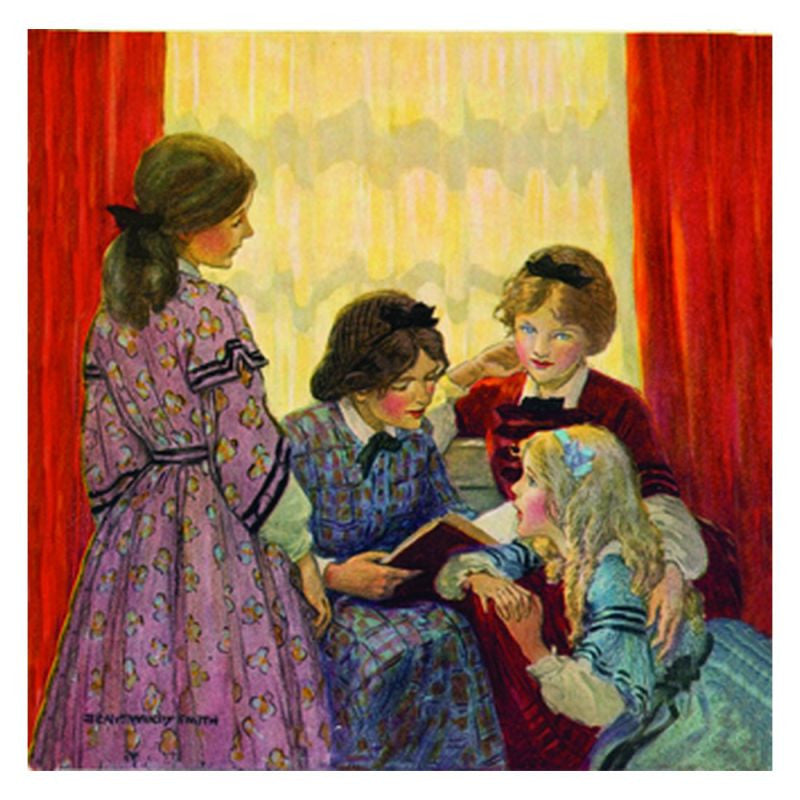 Jessie Willcox Smith Greeting Cards : Little Women - challenge and fun natural toys
