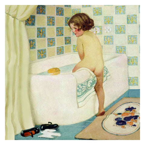 Jessie Willcox Smith Greeting Cards : Bathtime - challengeandfunretail