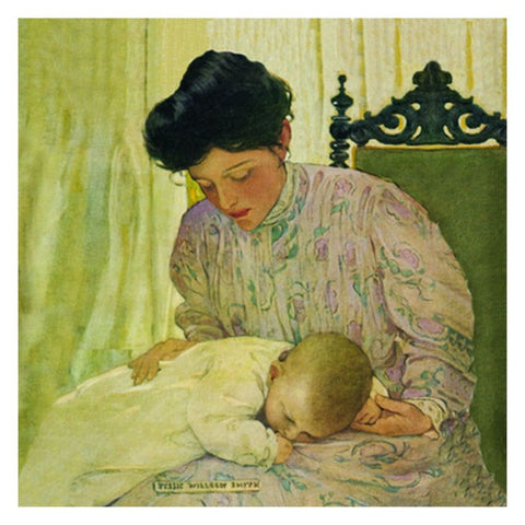 Jessie Willcox Smith Greeting Cards : First the Infant - challengeandfunretail