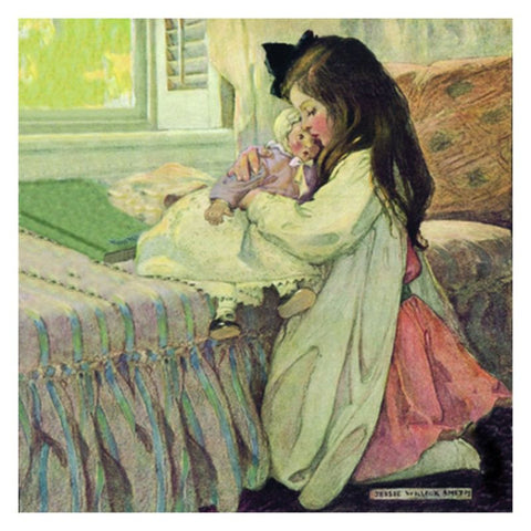 Jessie Willcox Smith Greeting Cards : My Dolly - challengeandfunretail