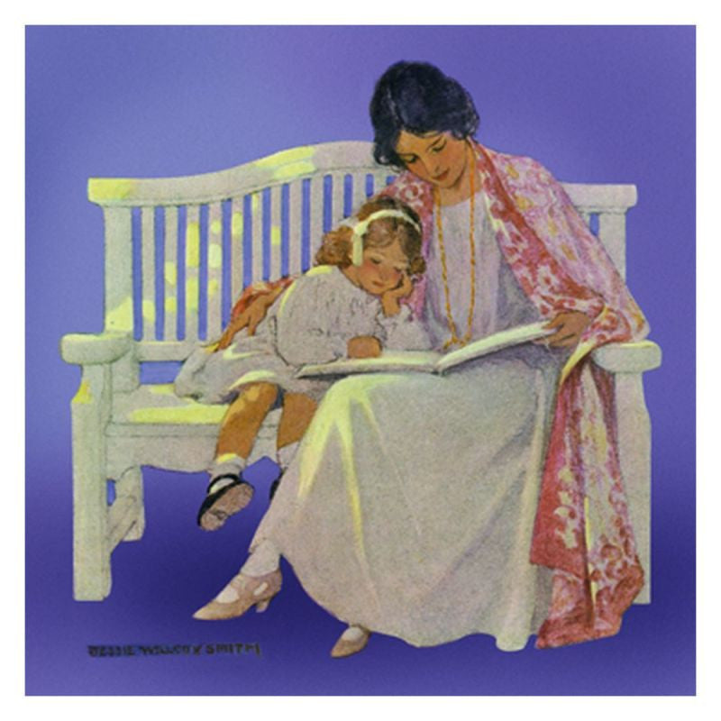 Jessie Willcox Smith Greeting Cards : Mother and Daughter - challengeandfunretail