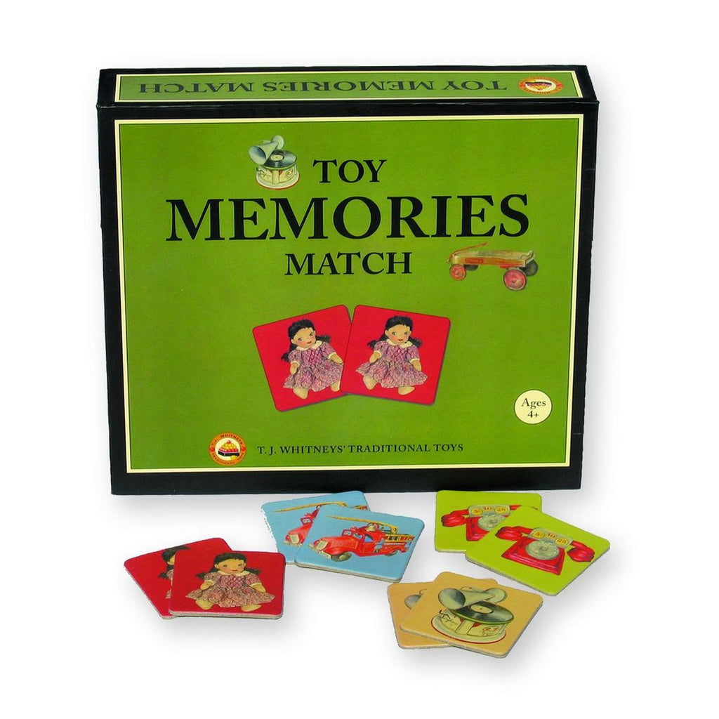 Toy Memories Match by TJ Whitneys - challenge and fun natural toys