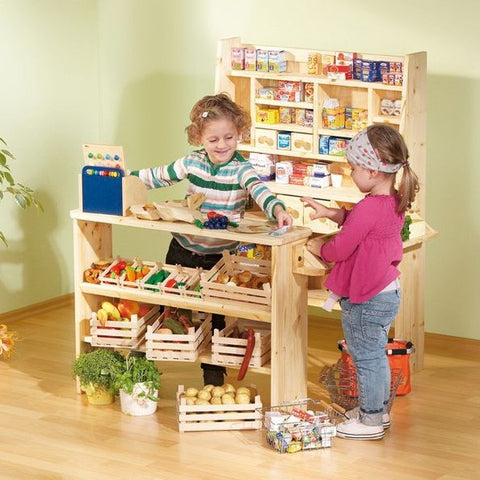 Haba Wooden Grocers Market - challenge and fun natural toys
