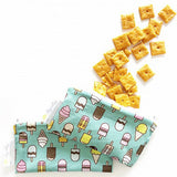 Kids Mini Snack Bags- Reusable Snack ice cream