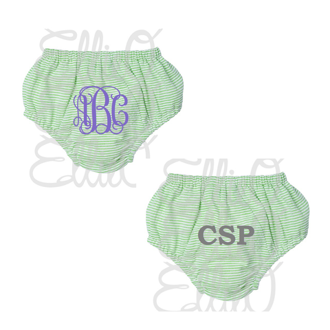 Seersucker Bloomers ( available in 3 colors)