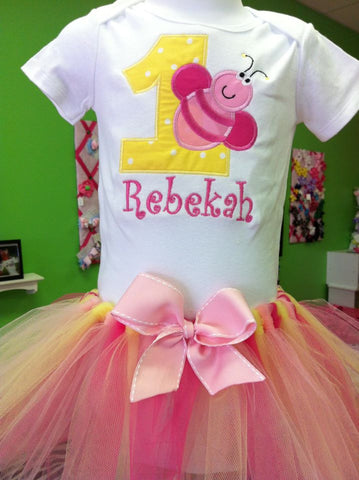 Bumble Bee Birthday TuTu Set