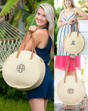Natural Bungalow Tote with free monogramming