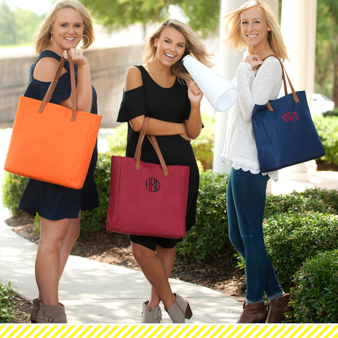 Game Day Tote Bags- Free Monogramming