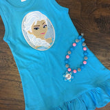 Elsa and Ana Sisters Dress