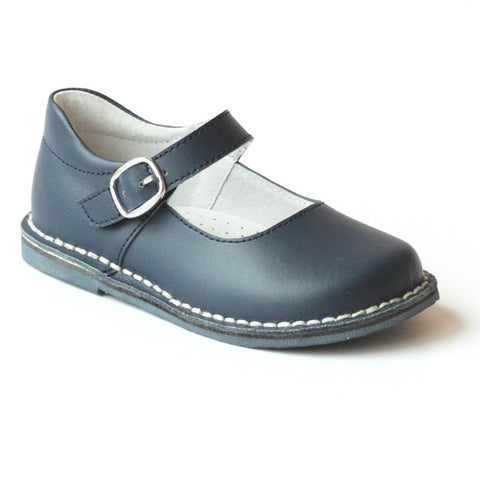 Navy L'Amour Mary Janes