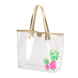 Clear Beach Tote
