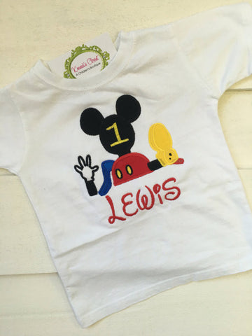Mickey Clubhouse Shirt