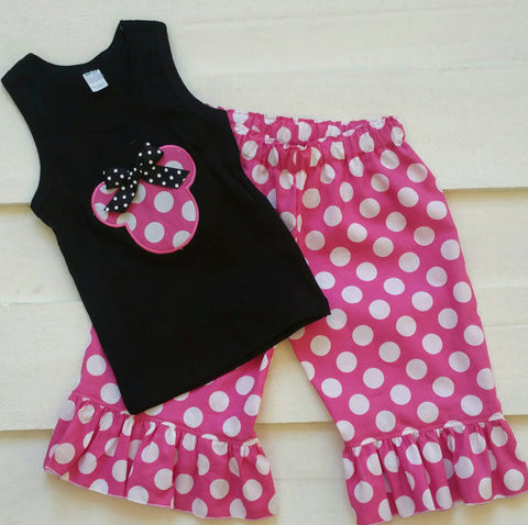 Minnie Capri Set