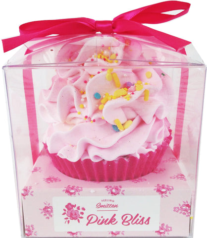 Cupcake Large Pink Bliss Bath Bomb
