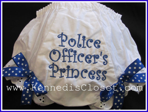 Police Officers Princess Bloomers