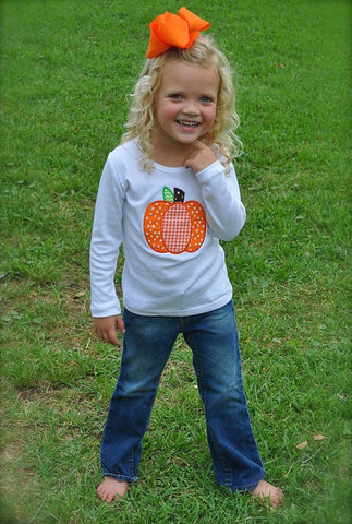 Pumpkin Dots Shirt