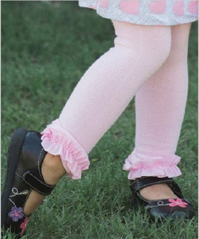 Footless Ruffle Tights- All Colors