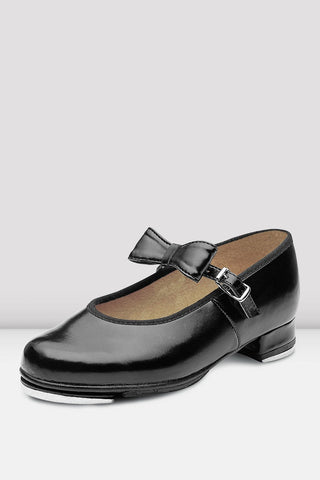 Ladies Mary Jane Tap Shoes Black by BOCH