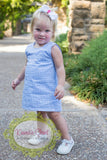 Girls Aline Dress- Gingham All Colors