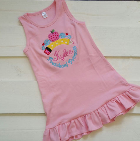 School Pencil Princess Dress/Shirt