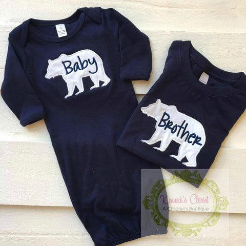 Baby Brother Bear Set