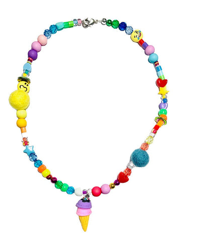 Ice Cream Be Happy Necklace by Sadie's Moon