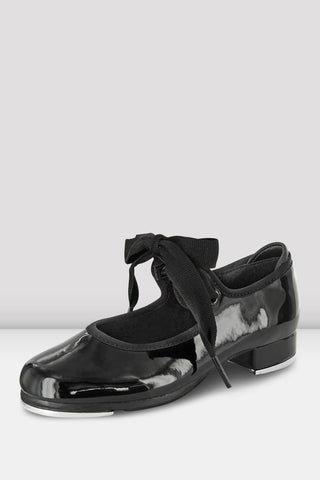 Girls Annie Tyette Tap Shoes Black by BLOCH