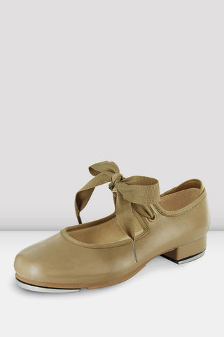 Girls Annie Tyette Tap Shoes Tan by BLOCH