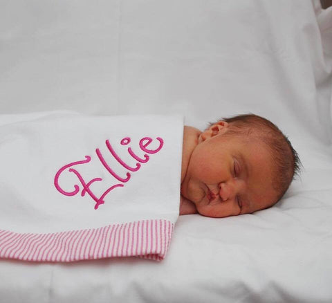 Seersucker Ellie Blanket- All colors available