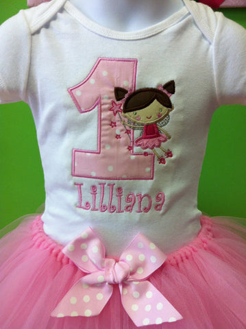 Fairy Princess Birthday TuTu Set