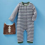 Football Bib One Piece