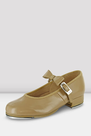 Ladies Mary Jane Tap Shoes Tan by BOCH