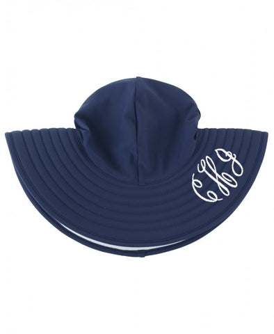 Navy Swimming Hat