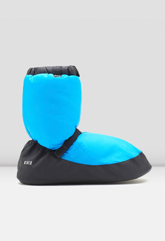 Warm Up Booties Blue